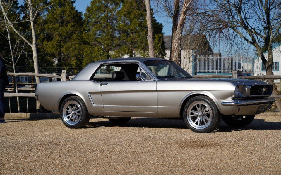 1965 Ford Mustang 302 Auto Coupe Tungsten Silver