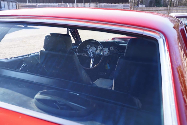 Cherry Red 1967 Mustang
