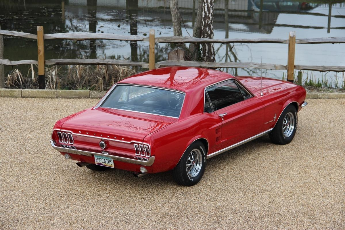 Ford Mustang Red 1967