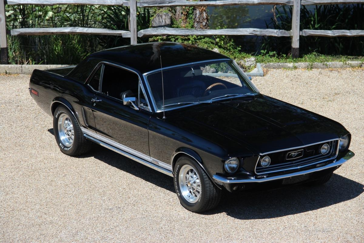 1968 Ford Mustang 302 Auto Coupe Black - Muscle Car1968 Mustang Coupe Black