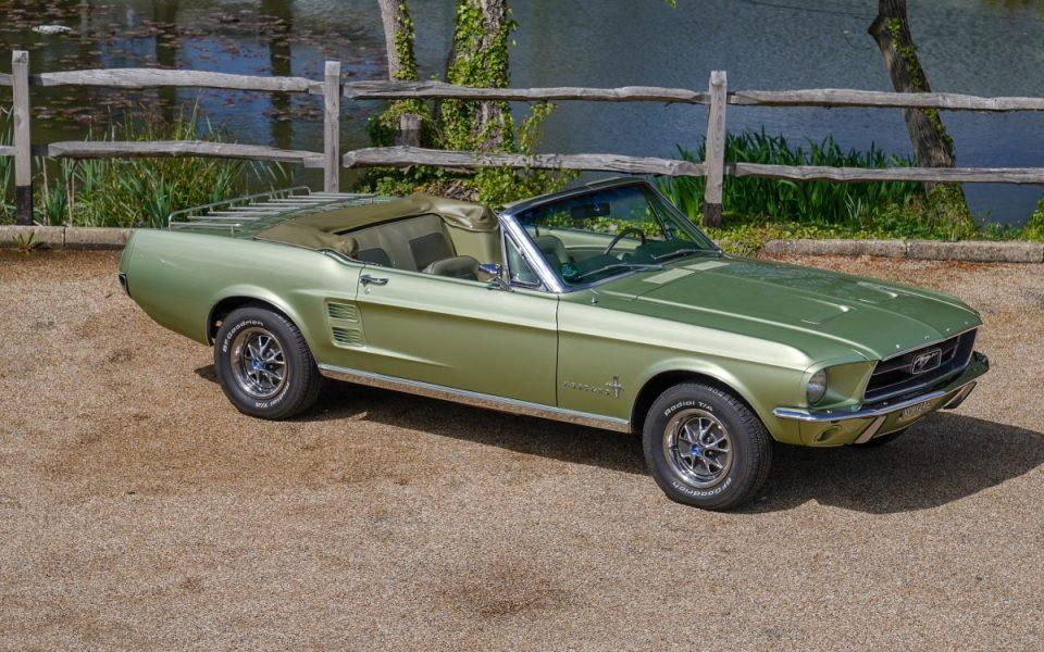 1967 Ford Mustang 289 Man 4 Sp Convertible