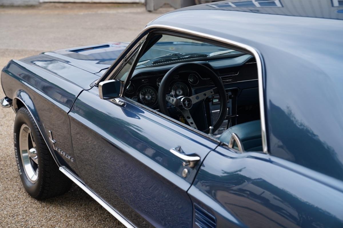 1967 Mustang 289 Automatic Coupe Arcadian Blue Muscle Car