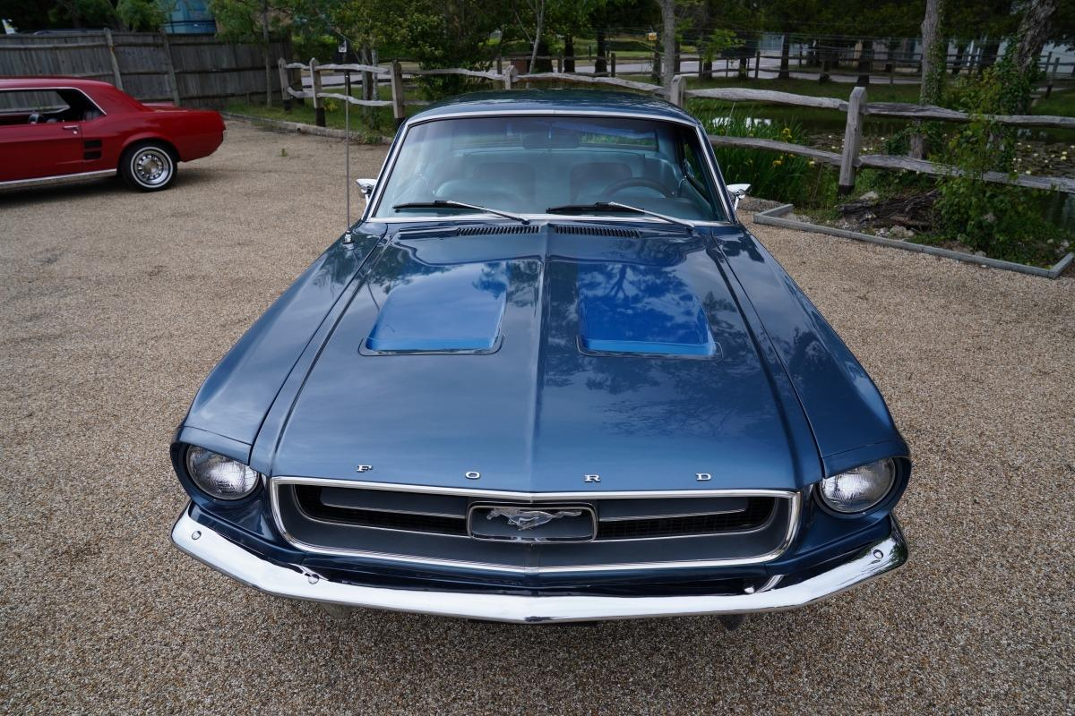 1967 Mustang 289 Automatic Coupe Arcadian Blue - Muscle Car