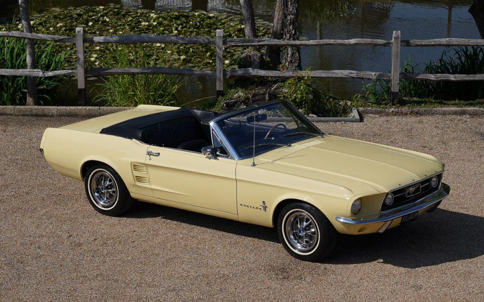 1967 Ford Mustang 289 Convertible Springtime Yellow