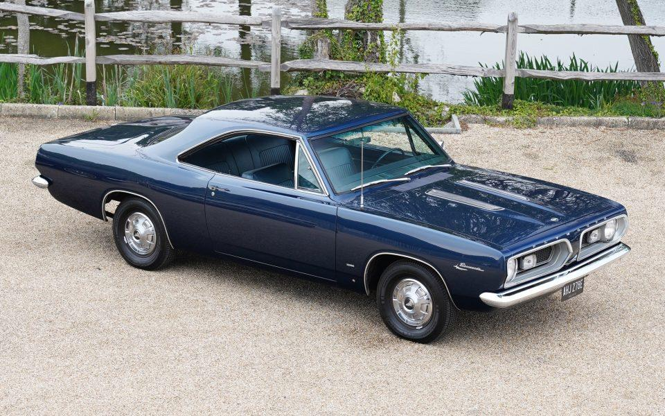 1967 Plymouth Barracuda 4.5 V8 Coupe Auto