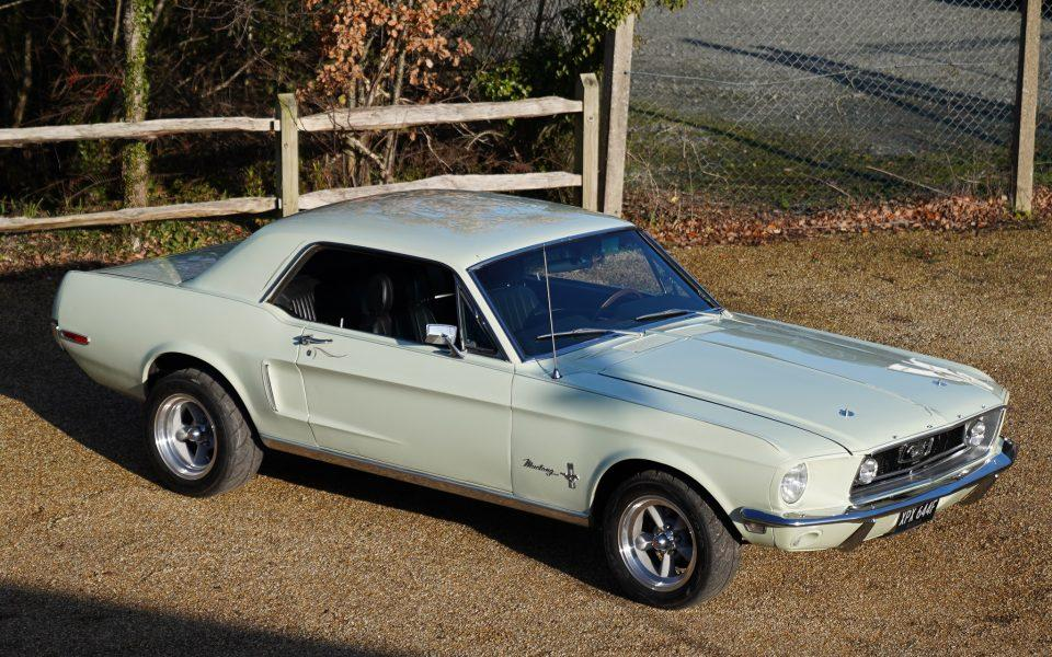 68 Ford Mustang 410 Race prepped Coupe