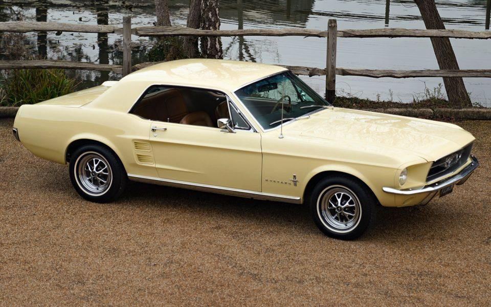 67 Low mileage Ford Mustang V8 Coupe
