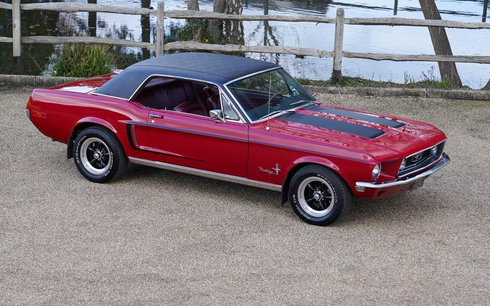 1968 Ford Mustang Classic Rally Prepared
