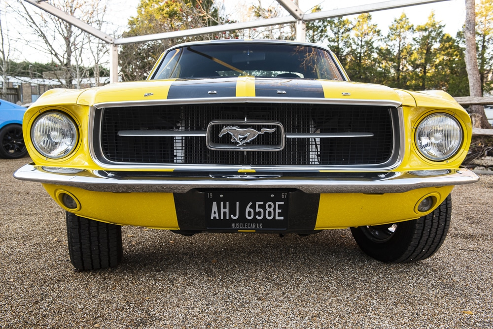 1967 Mustang Coupe Rear Window
