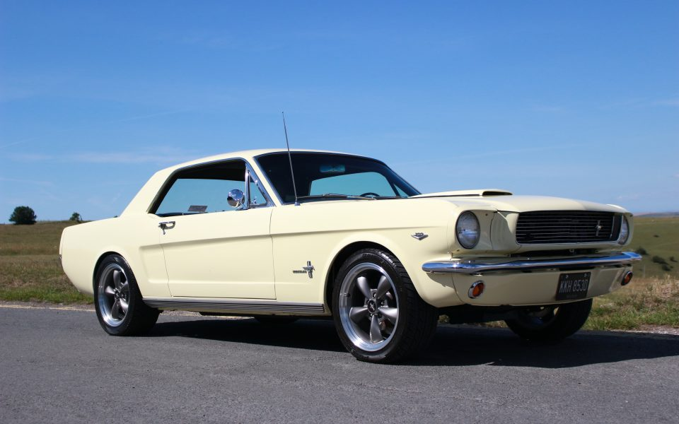 66 Ford Mustang 289 Stroked 5 Speed