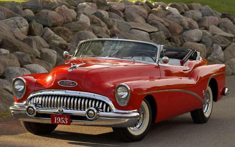 Caption: 1953 Buick Skylark