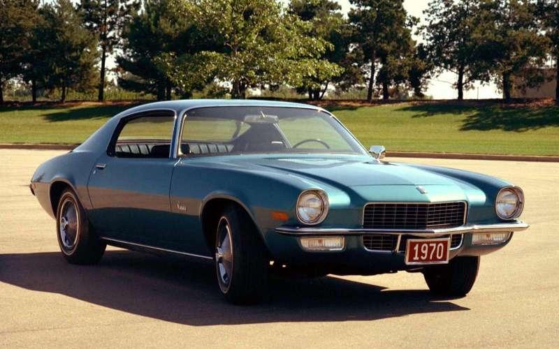 Caption: 1970 Camaro