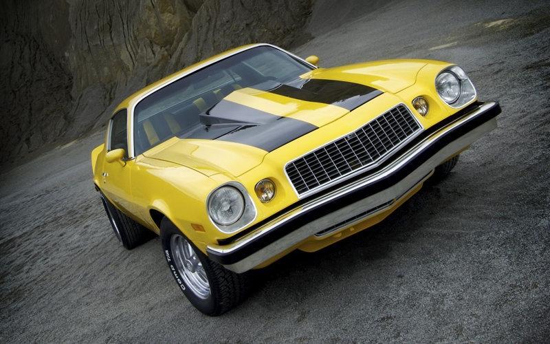 Caption: 1975 Camaro