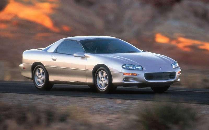 Caption: 1999 Camaro