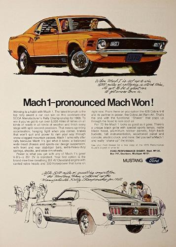 1970-ford-mustang-mach-1-mach-won-print-ad-Pinterest-STANGBANGERS-357x500