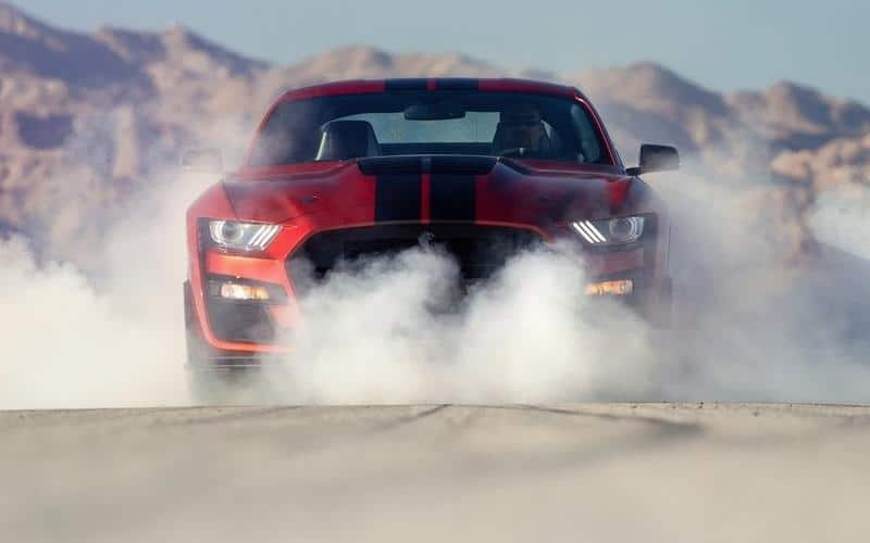 2020 Shelby GT500 Ford Mustang