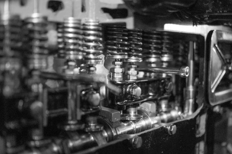 Boss Mustang 302 V8 engine