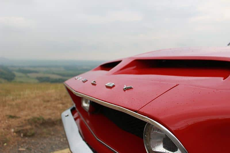 Caption: 1968 Shelby GT-500 Fastback. Muscle Car UK.