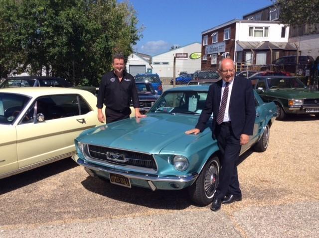 Ford UK MD Visits Muscle Car Dealership UK
