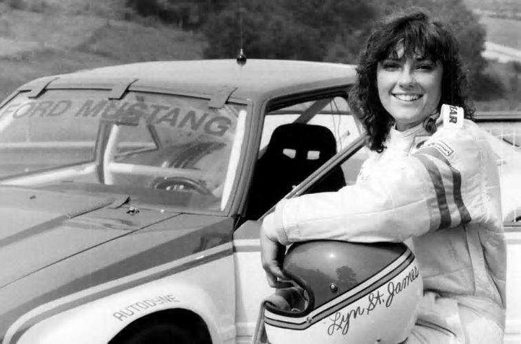 Lyn St James - First Woman to win Indianapolis 500 Rookie of the Year Award