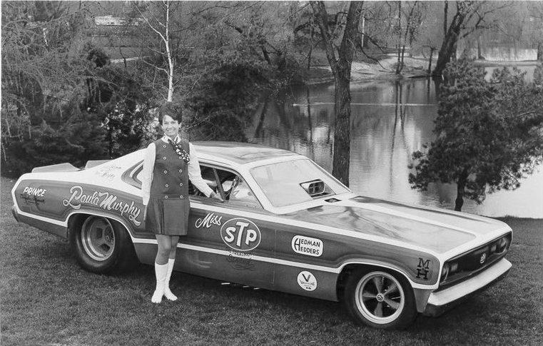 Paula Murphy - First Woman Liscenced to Drive a Nitro-fueled Car