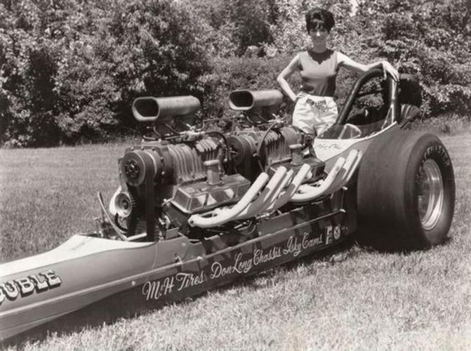 Shirley Muldowney - First Woman to receive an NHRA Top Fuel license