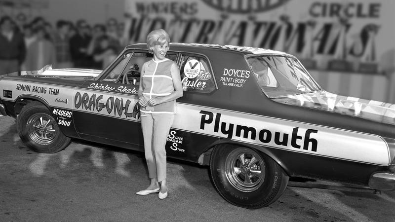 Shirley Shahan- First woman to win an NHRA Pro event