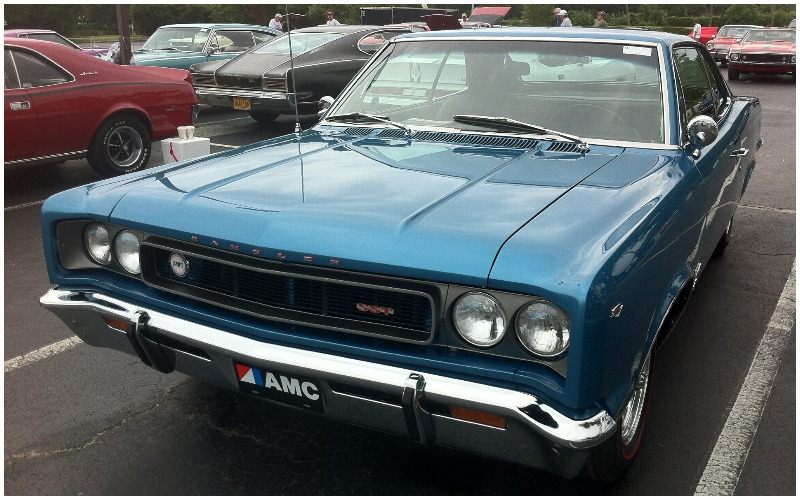 AMC Rebel Review – Classic Muscle Cars UK