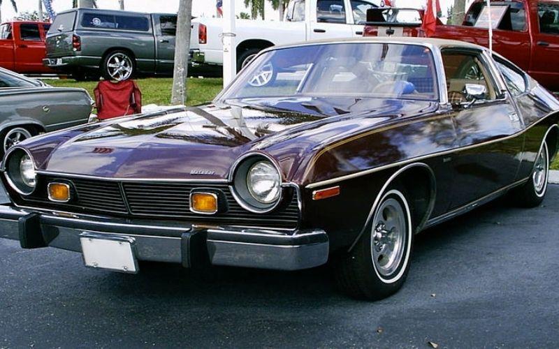 "ALT TEXT: 1976 AMC Matador Coupe Cocoa  INSERT ""1976 AMC Matador Coupe Cocoa Via Wikimedia.jpg"" here   SOURCE: Wikimedia Commons"