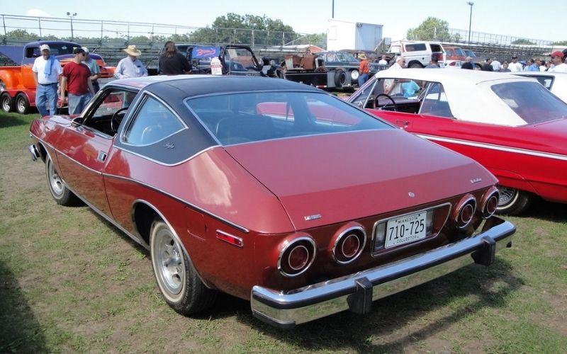 """ALT TEXT: 1976 AMC Matador Coupe   INSERT """"1976 AMC Matador Coupe Via Flickr.jpg"""" here   SOURCE: Flickr"""