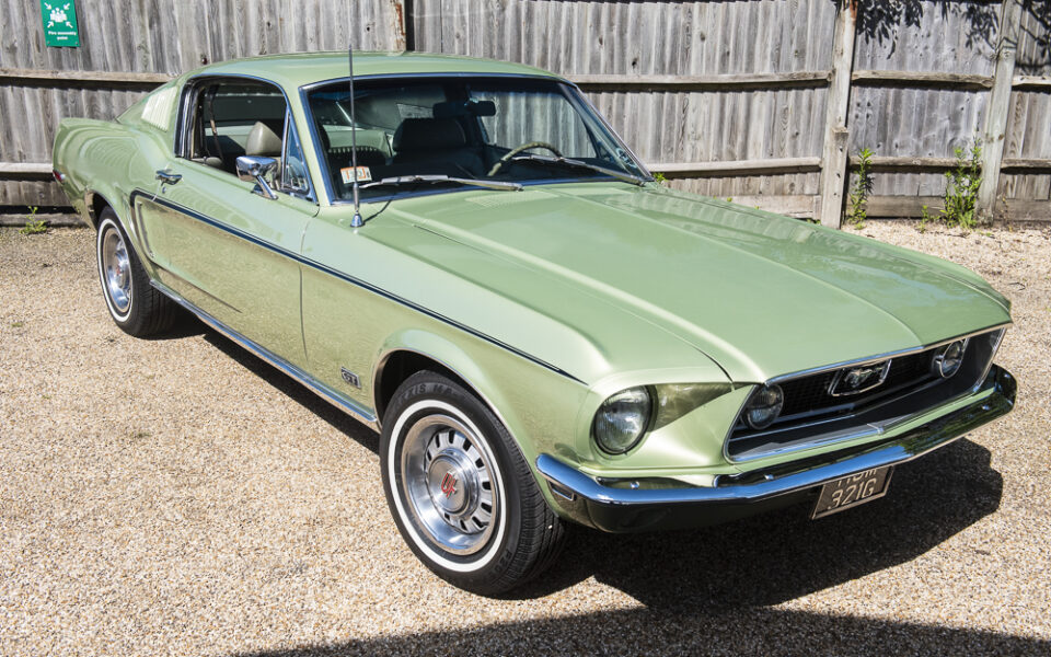 Ford Mustang 1968 Fastback S code 390 big block.
